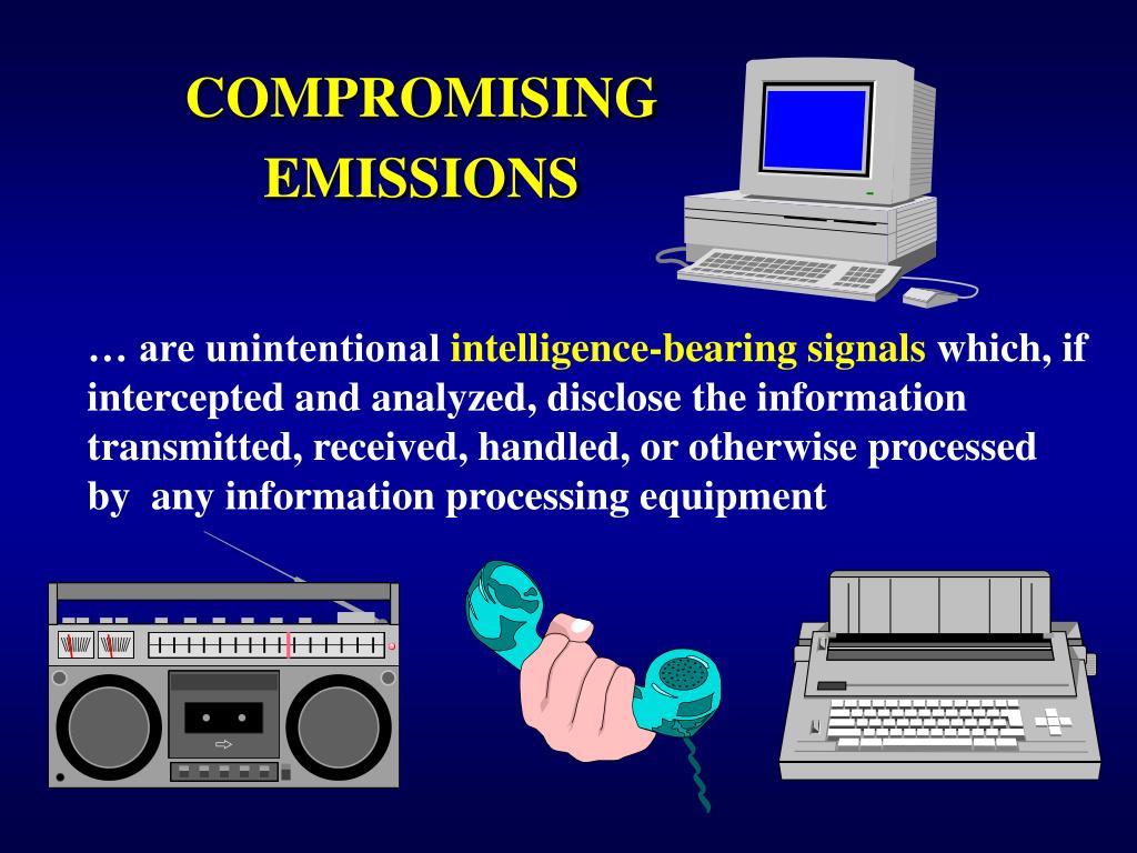 COMPROMISING EMISSIONS