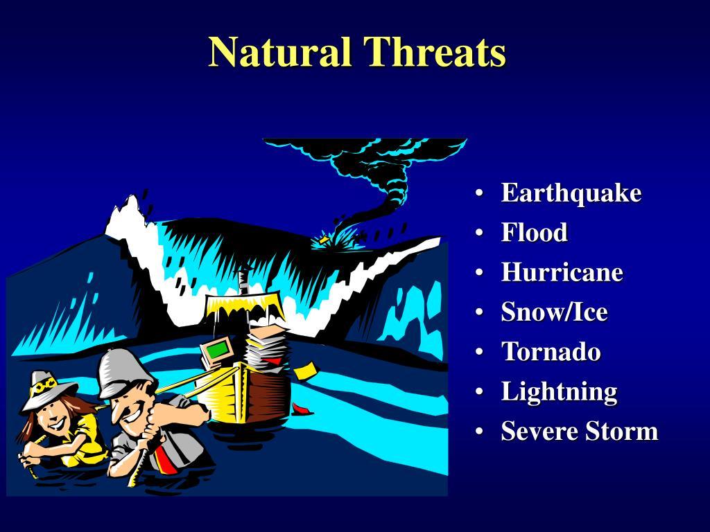 Natural Threats