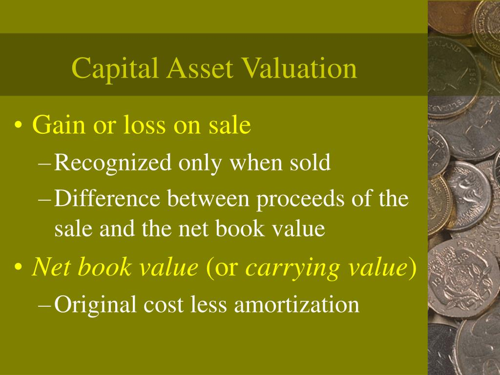 Capital Asset Valuation