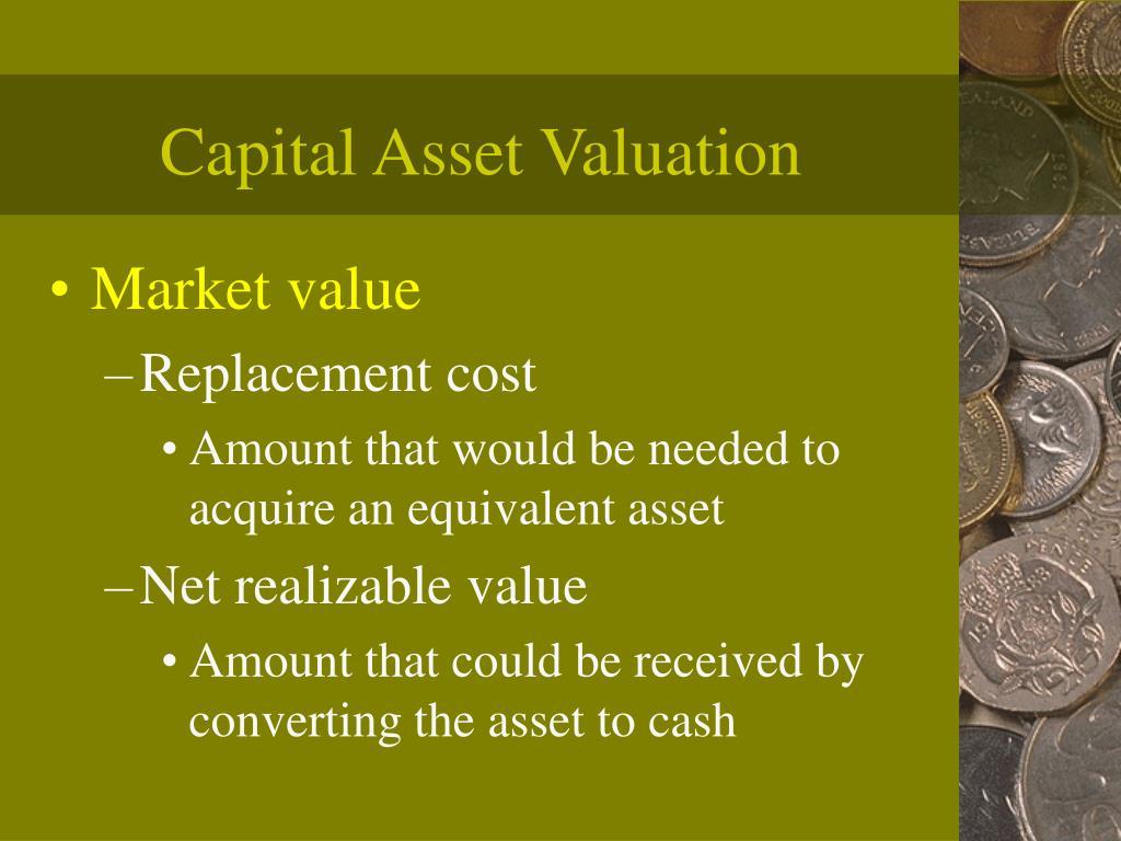 Capital Asset Valuation