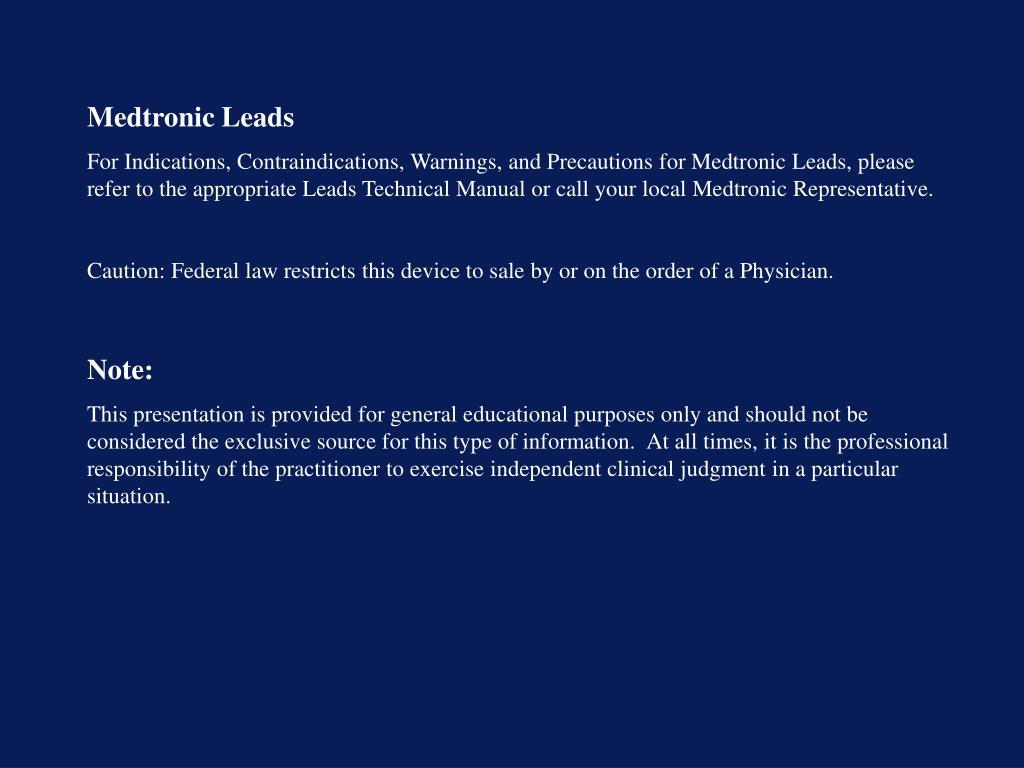Medtronic Leads