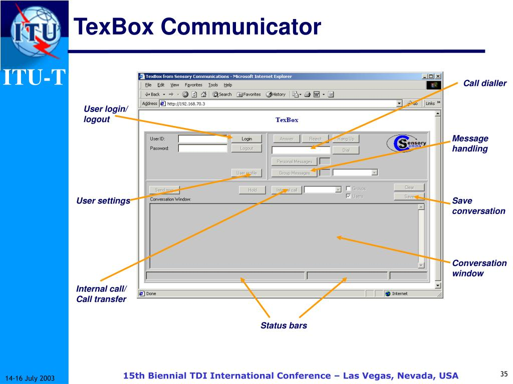 TexBox Communicator