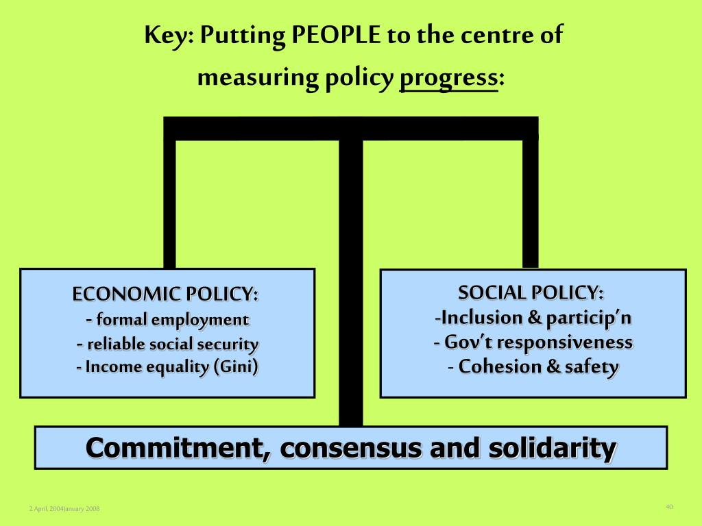 Key: Putting PEOPLE to the centre of