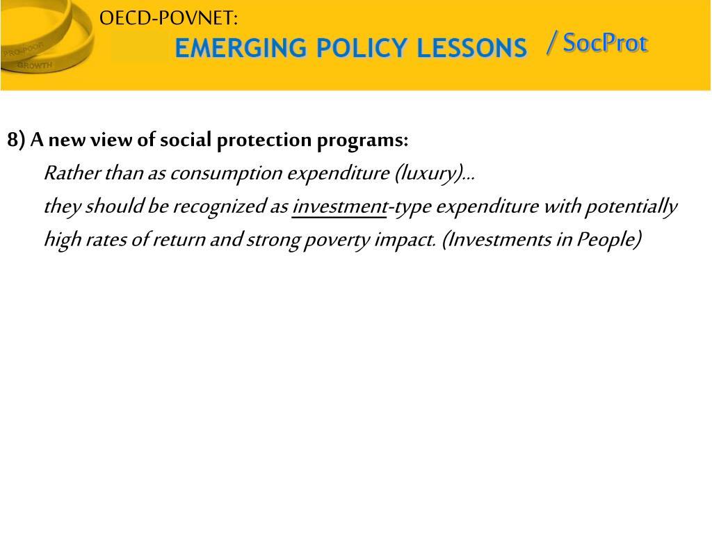 OECD-POVNET:
