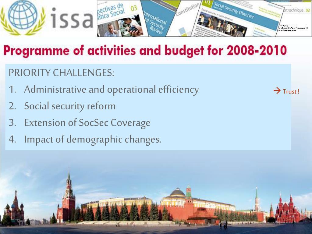 Regional Social Security Forums