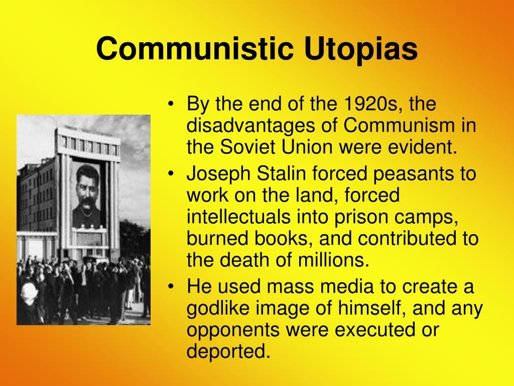 Communistic Utopias
