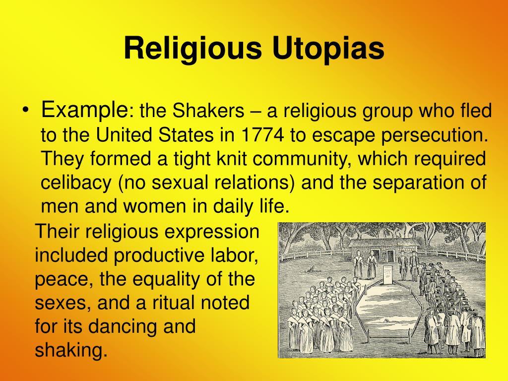 Religious Utopias