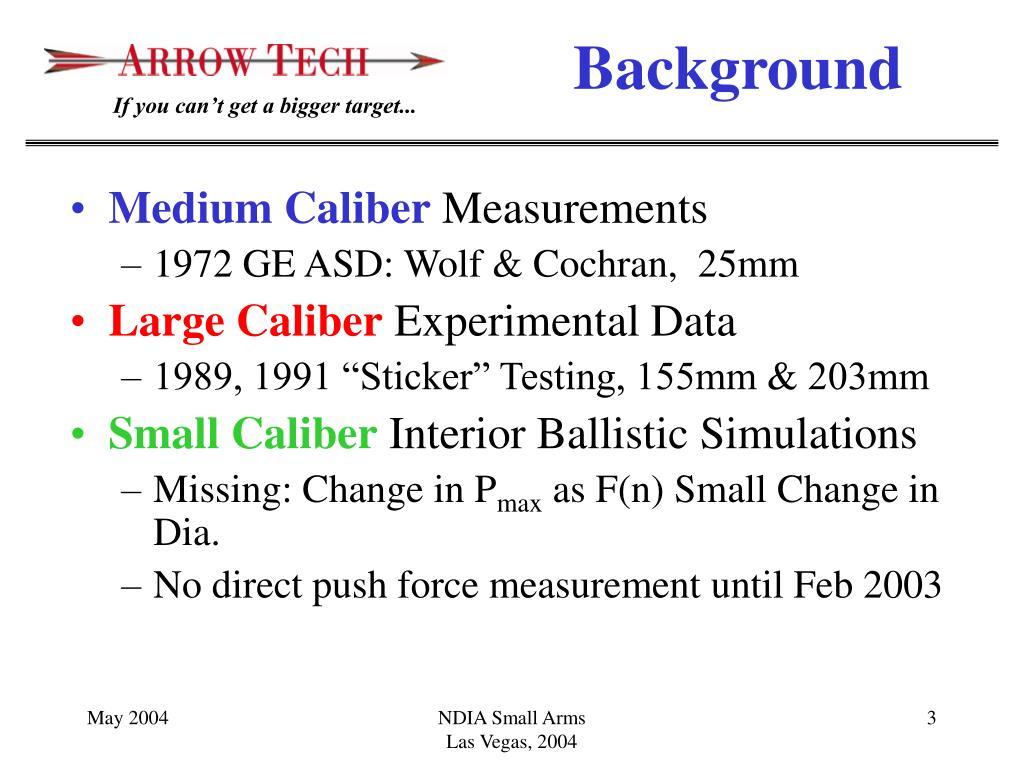 Medium Caliber