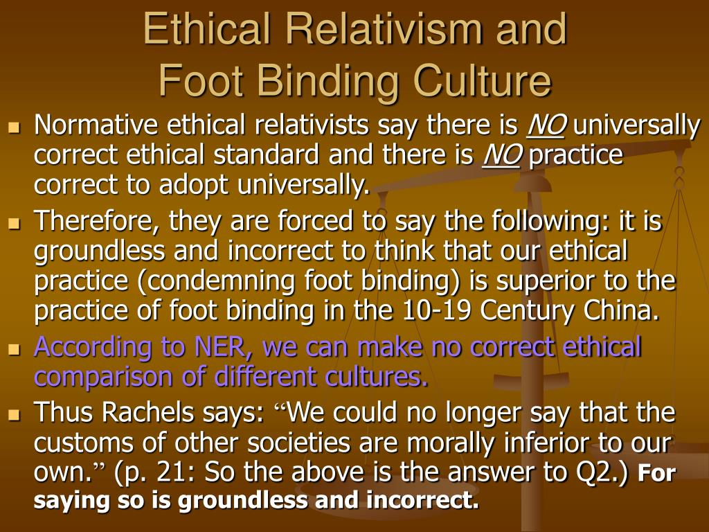 Ethical Relativism and