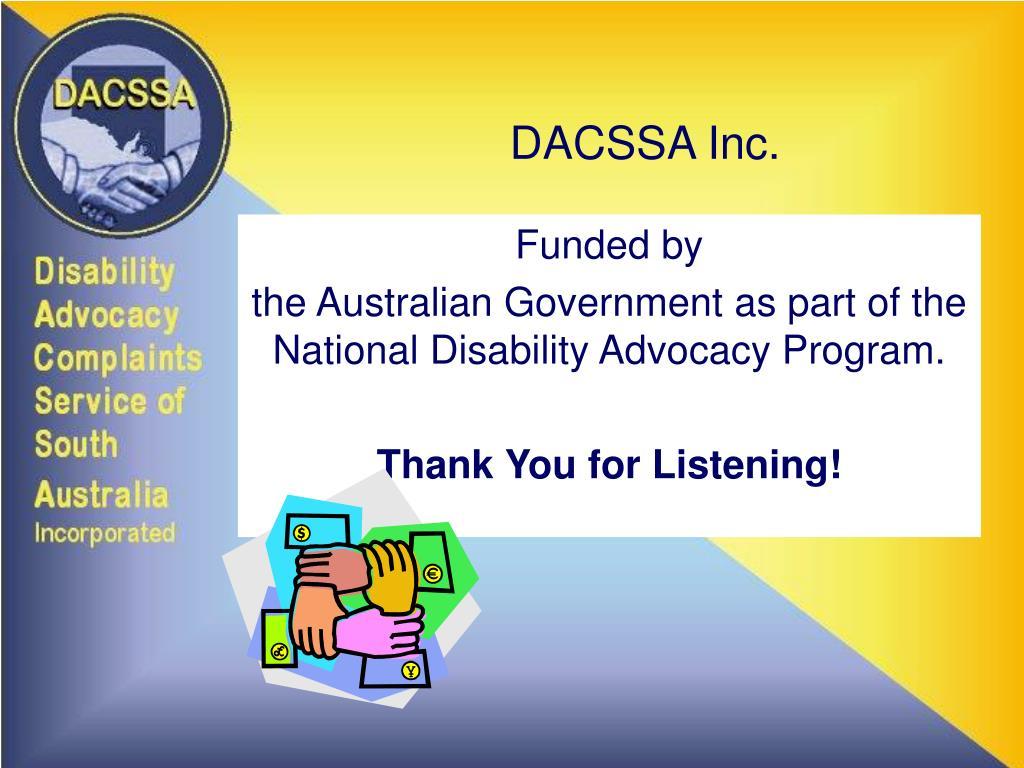 DACSSA Inc.