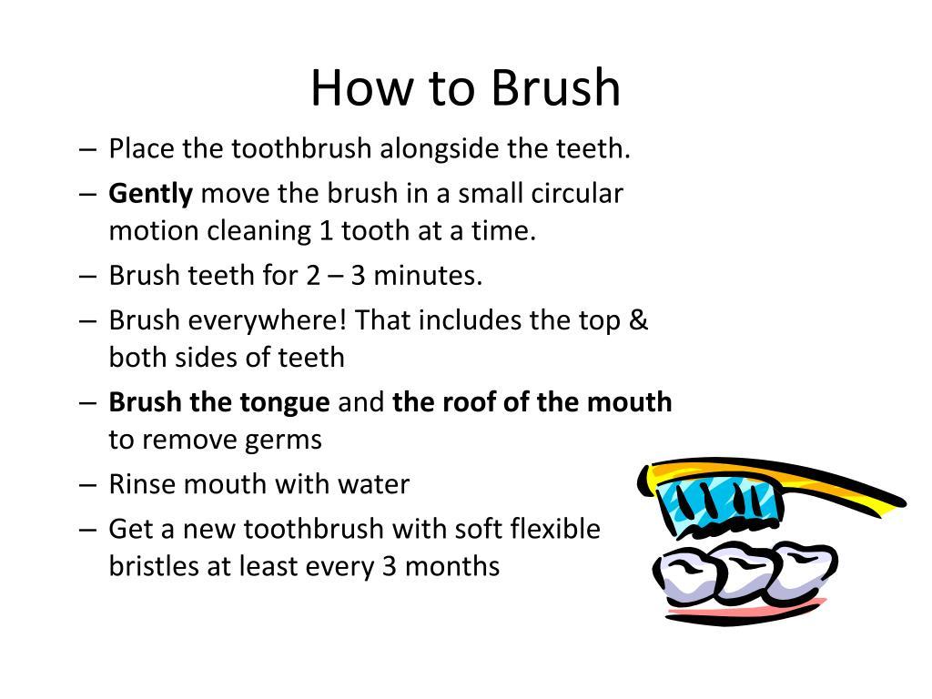 How to Brush