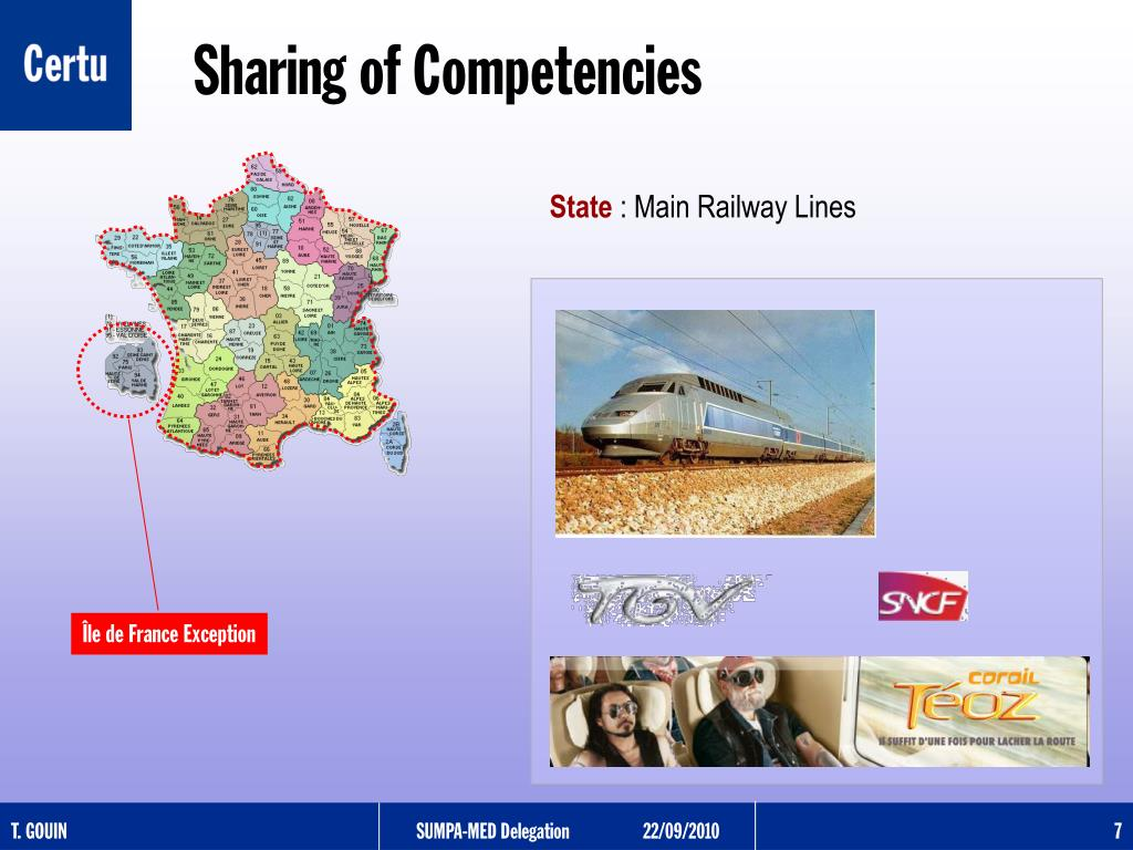 Sharing of Competencies