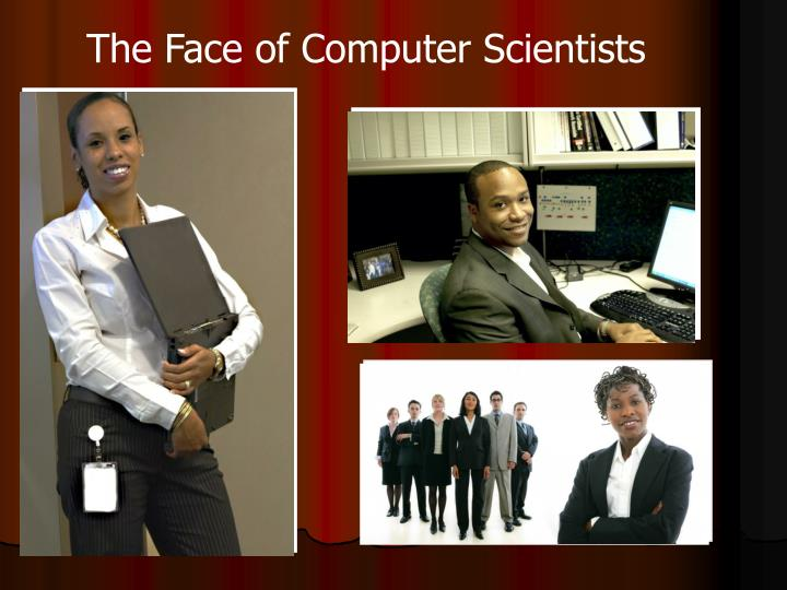 The Face of Computer Scientists