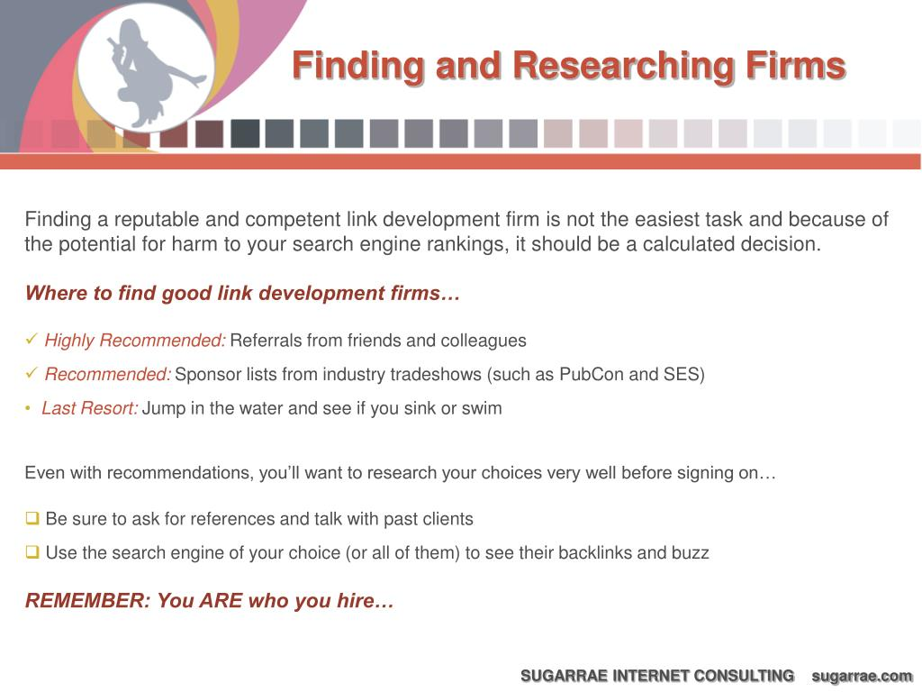 Finding and Researching Firms