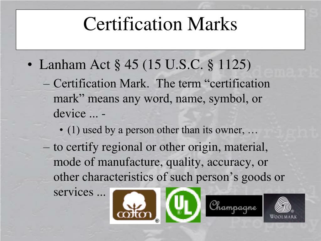 Lanham Act § 45 (15 U.S.C. § 1125)