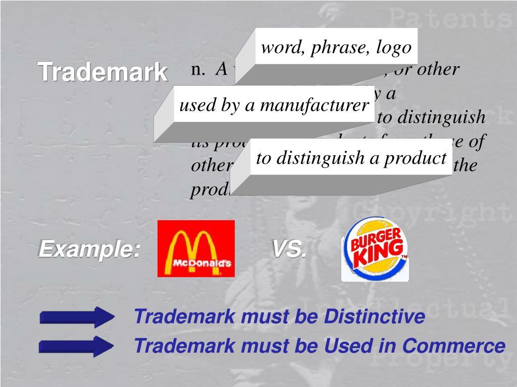 word, phrase, logo