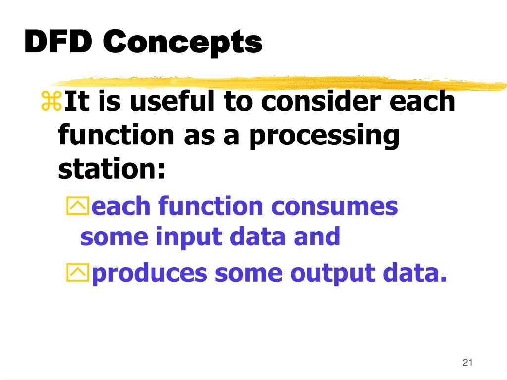DFD Concepts