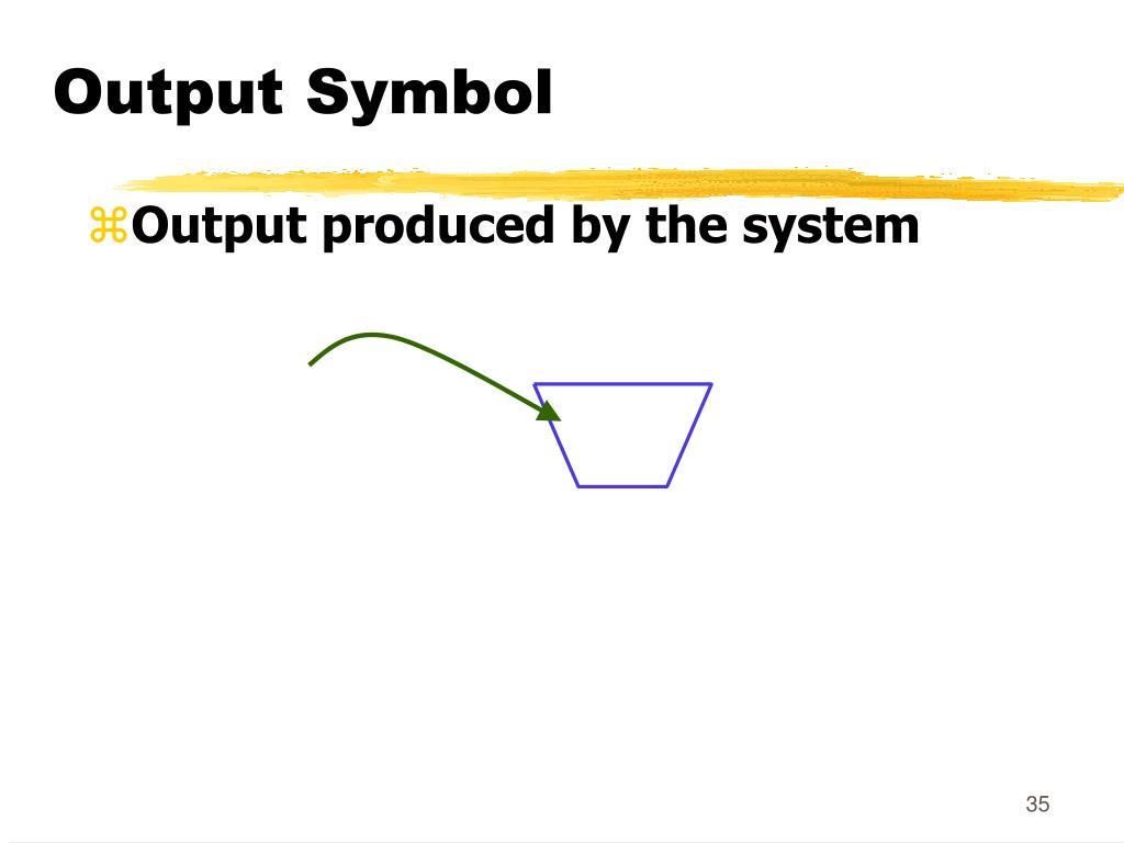 Output Symbol