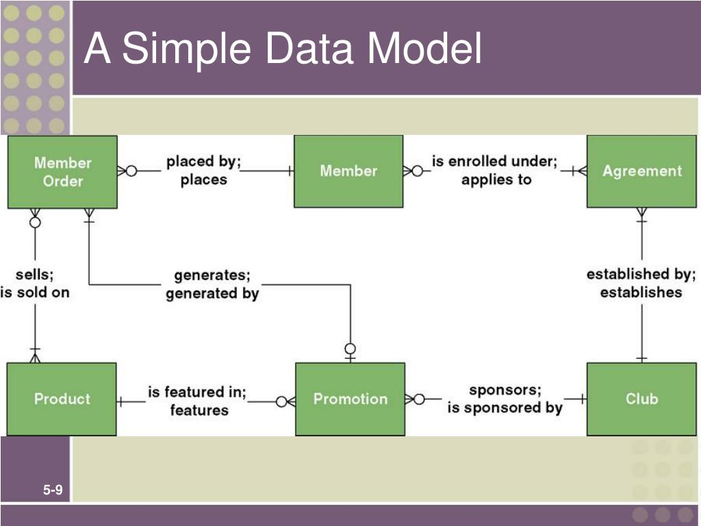 A Simple Data Model