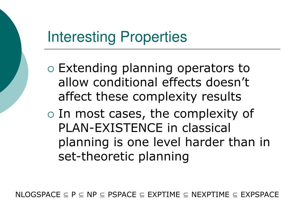Interesting Properties
