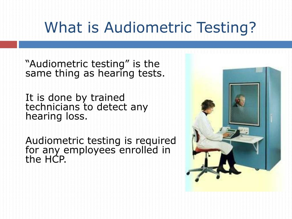 What is Audiometric Testing?
