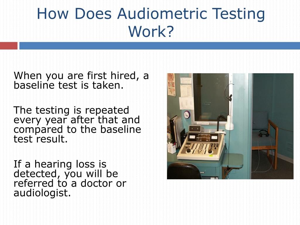 How Does Audiometric Testing Work?