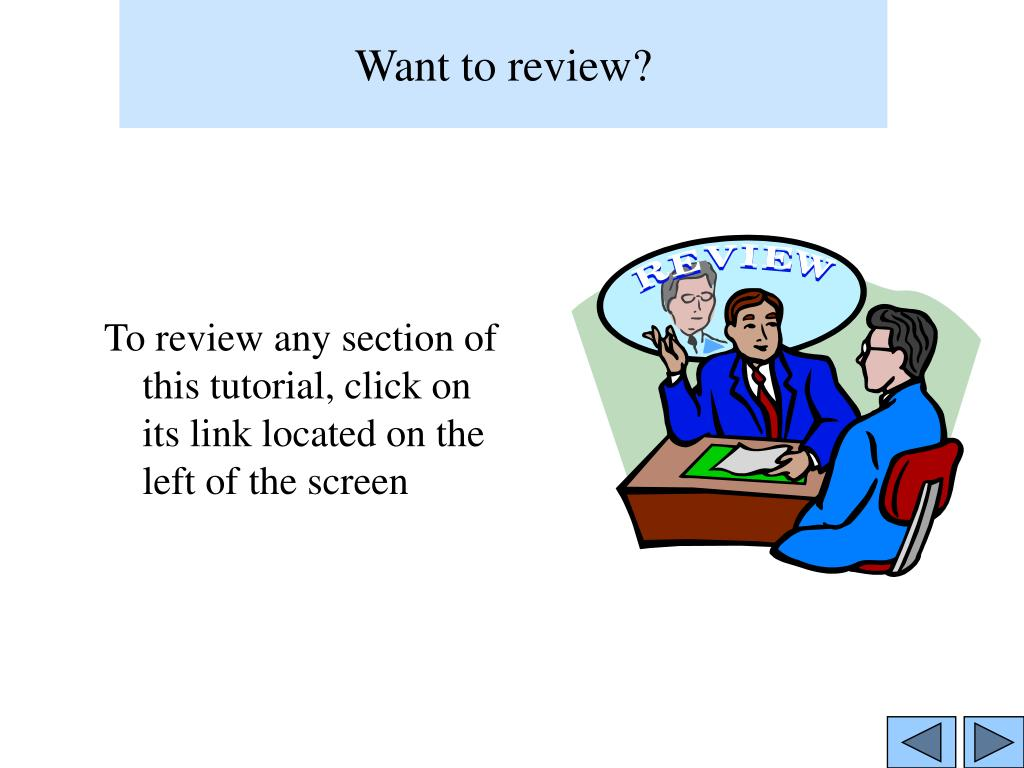 Want to review?