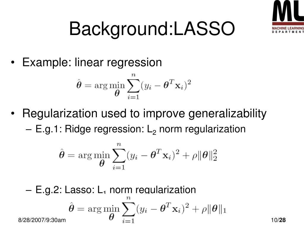 Background:LASSO