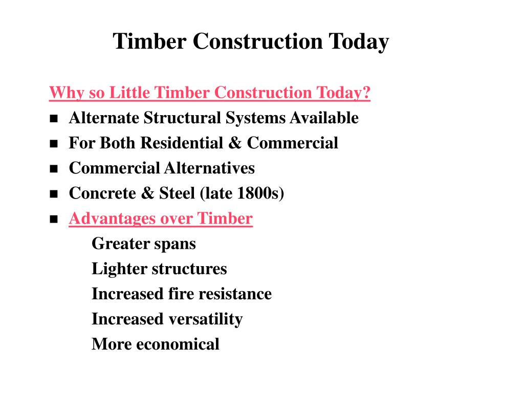 Timber Construction Today