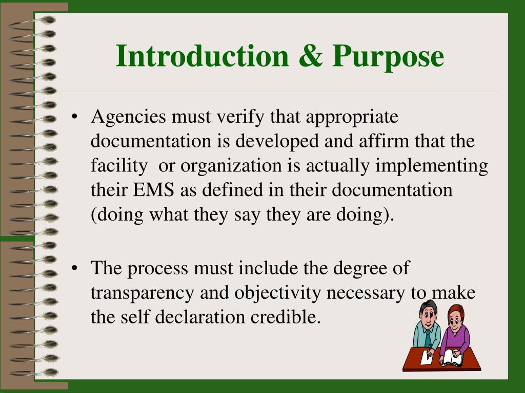 Introduction & Purpose