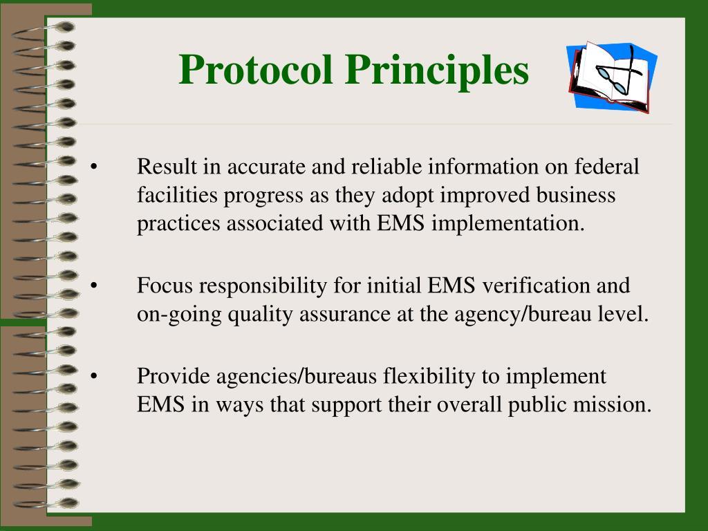 Protocol Principles