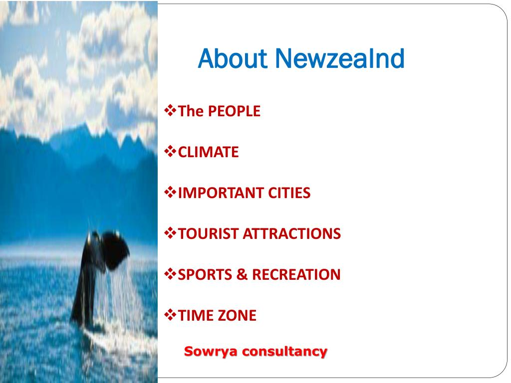 About Newzealnd