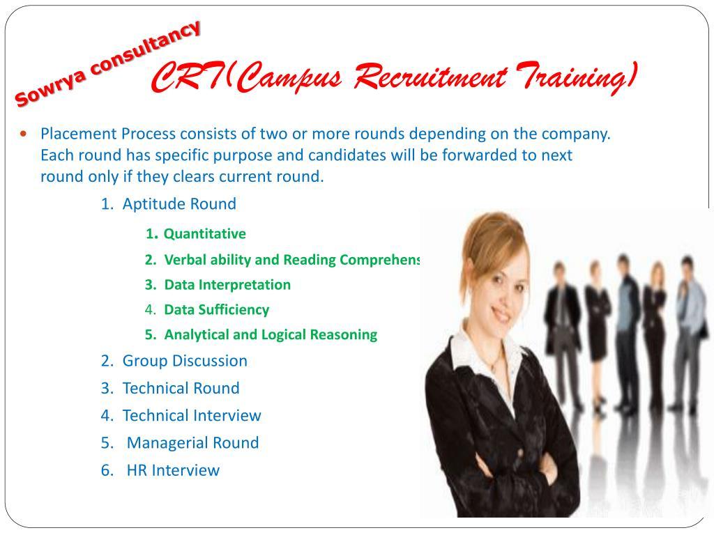 CRT(Campus Recruitment Training)