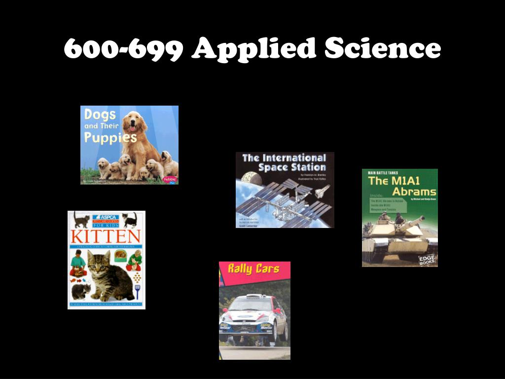 600-699 Applied Science