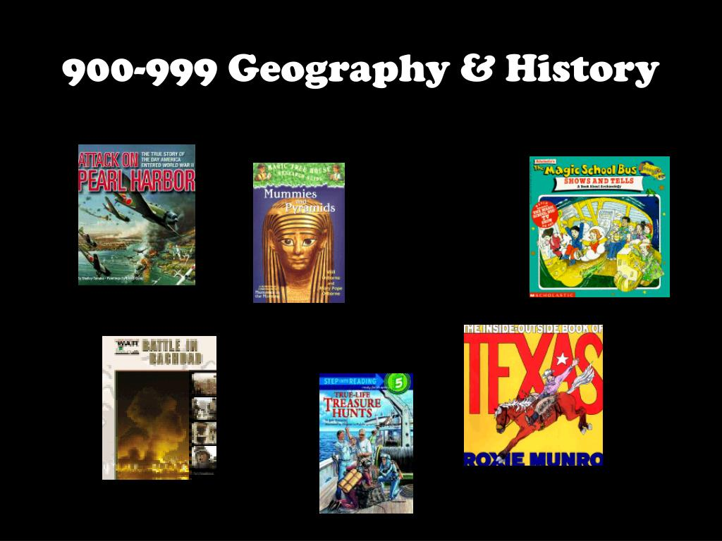900-999 Geography & History