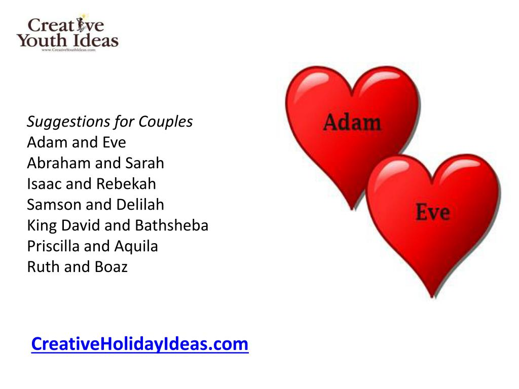 Suggestions for Couples