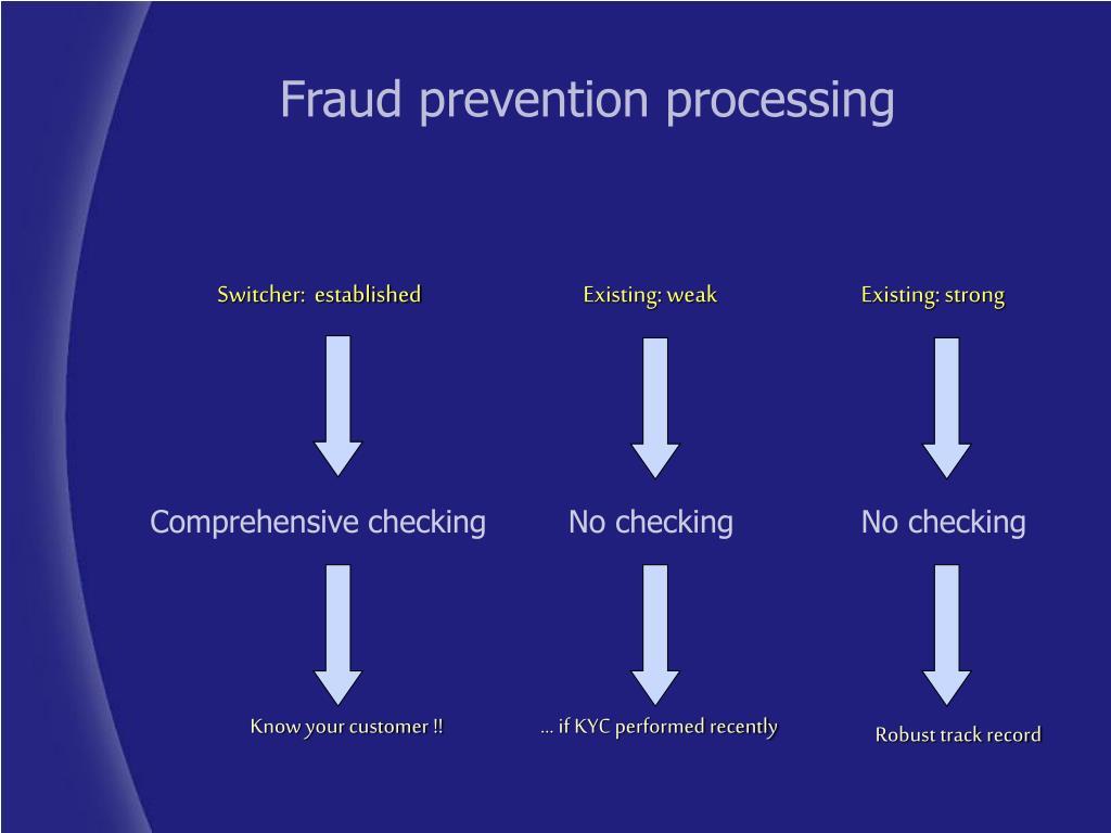 Comprehensive checking