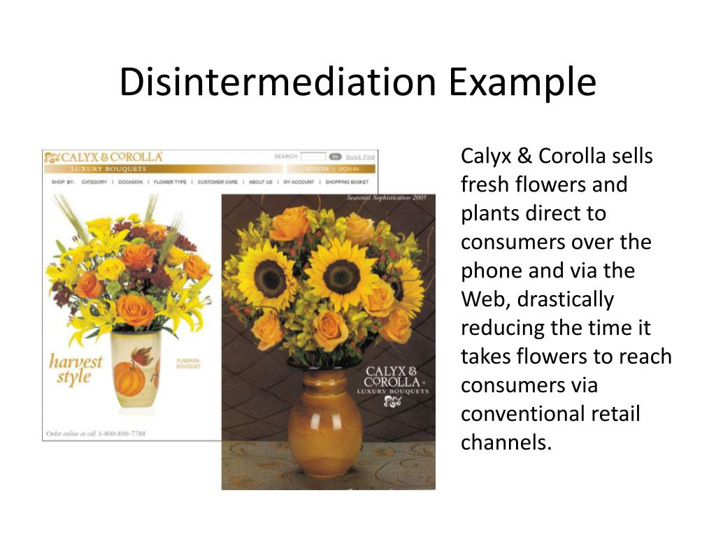 Disintermediation Example