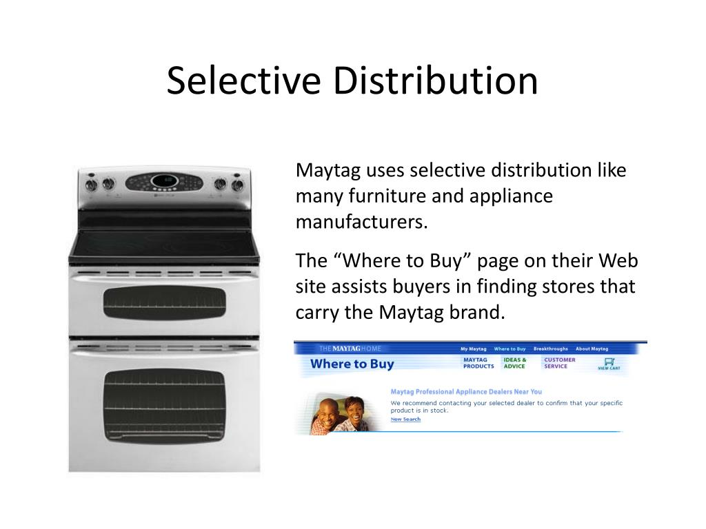 Selective Distribution