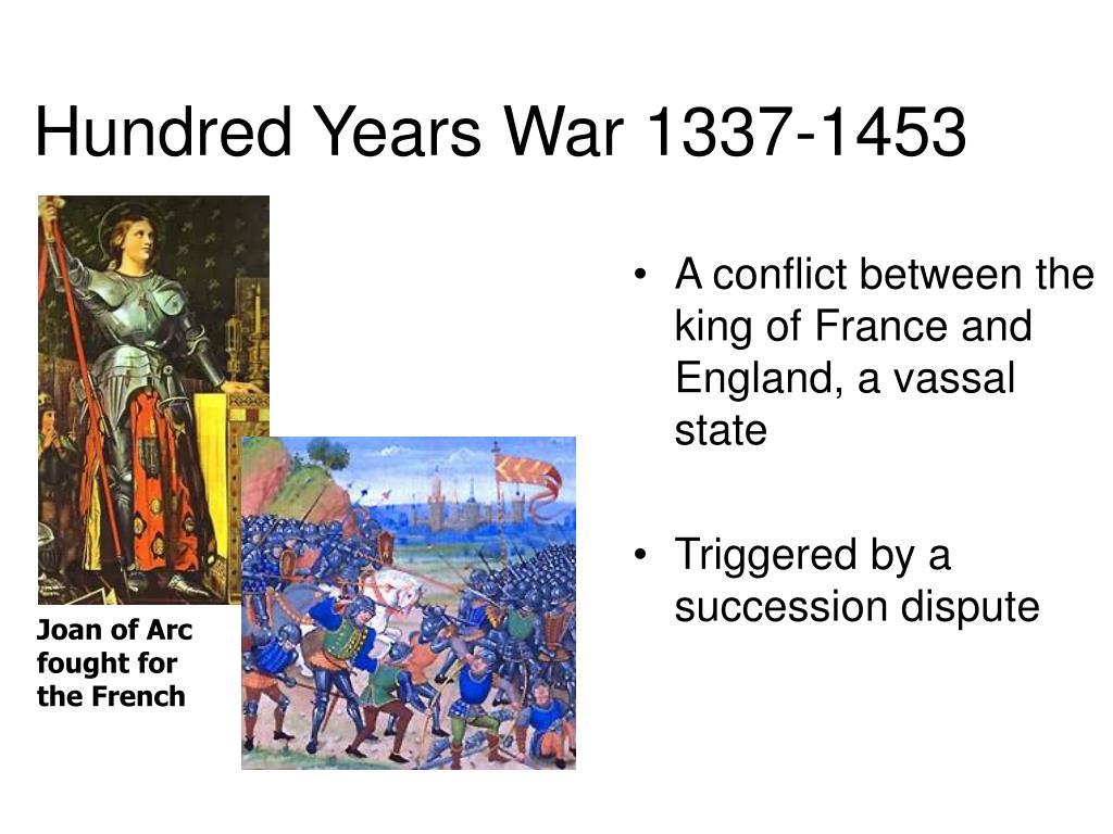Hundred Years War 1337-1453