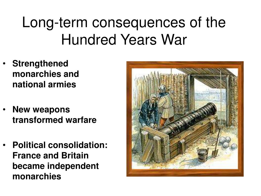 Long-term consequences of the Hundred Years War