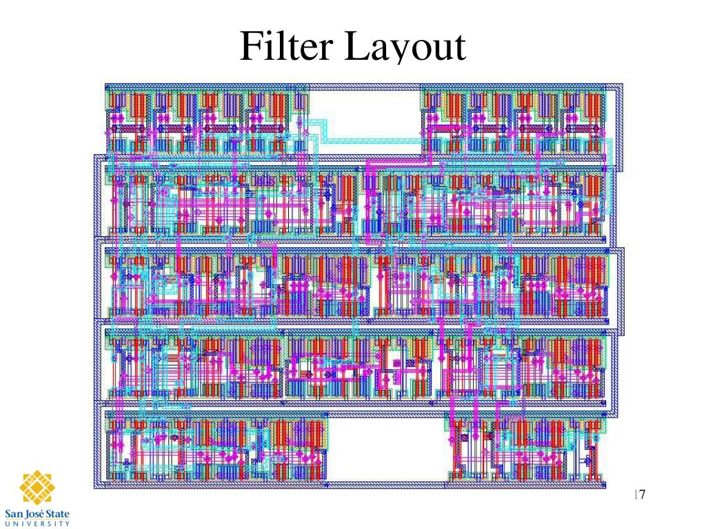 Filter Layout