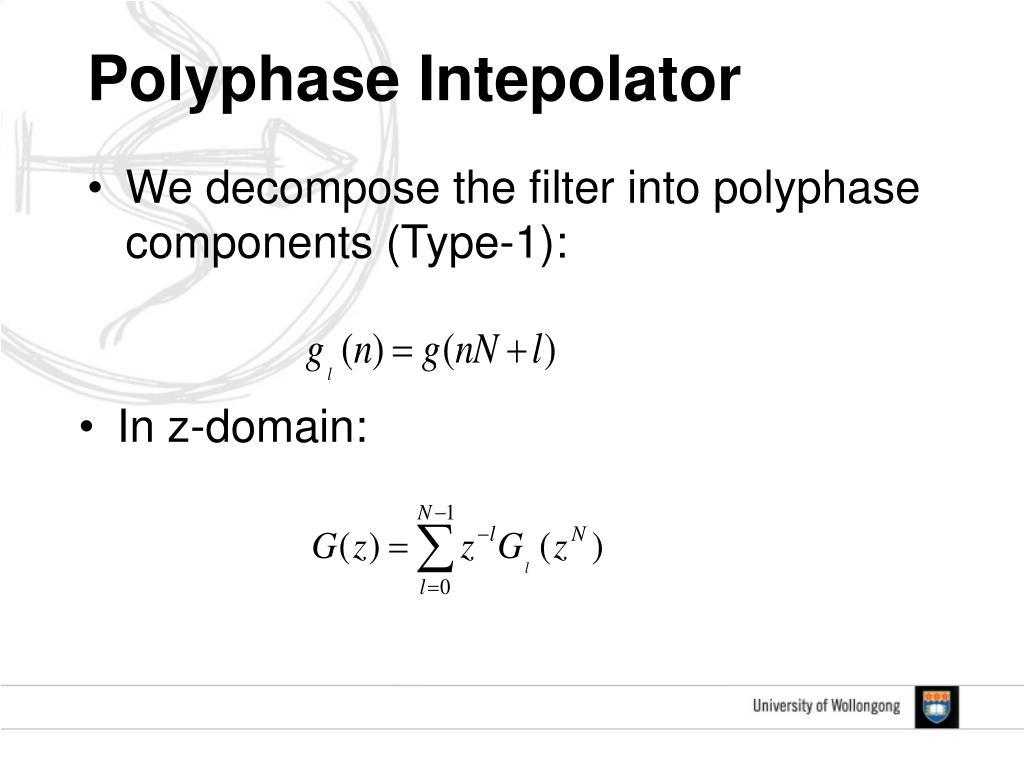 Polyphase Intepolator