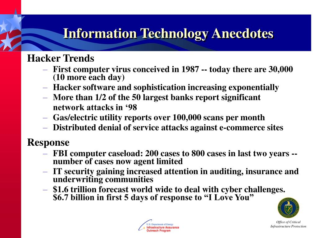 Information Technology Anecdotes