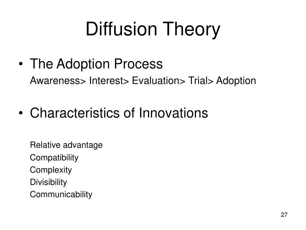 Diffusion Theory