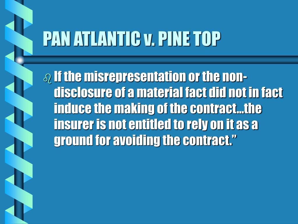 PAN ATLANTIC v. PINE TOP