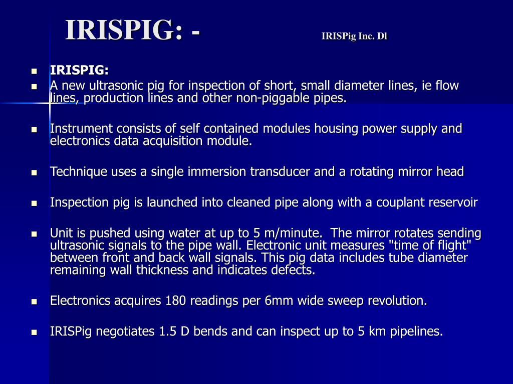 IRISPIG: -