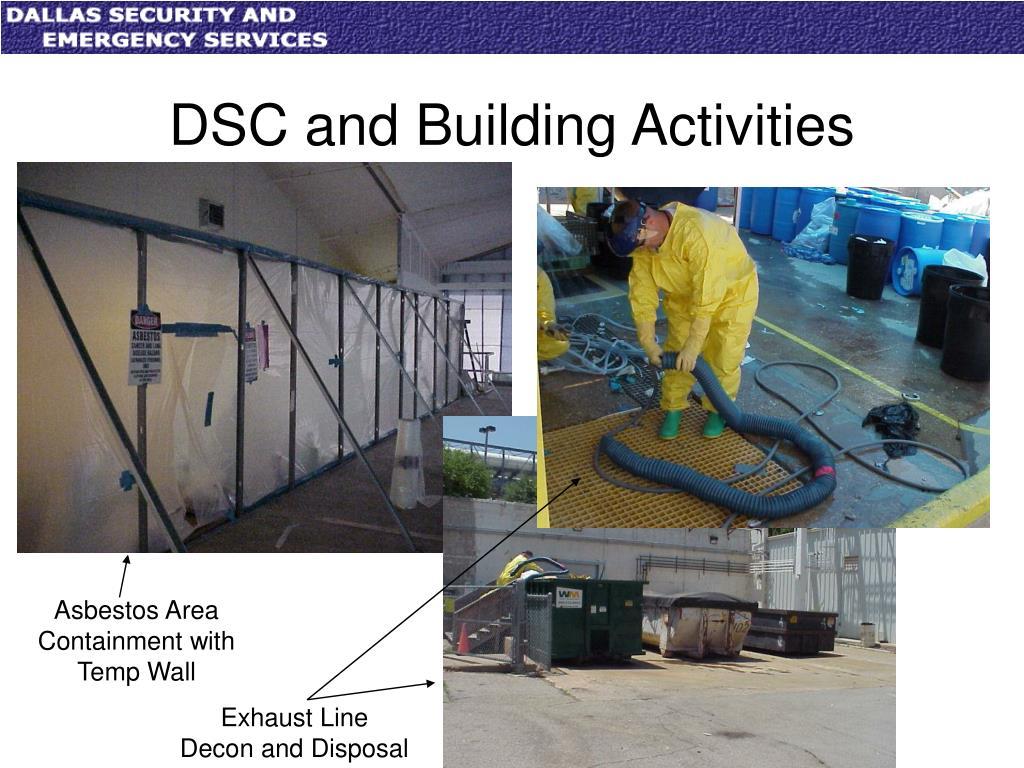 DSC and Building Activities