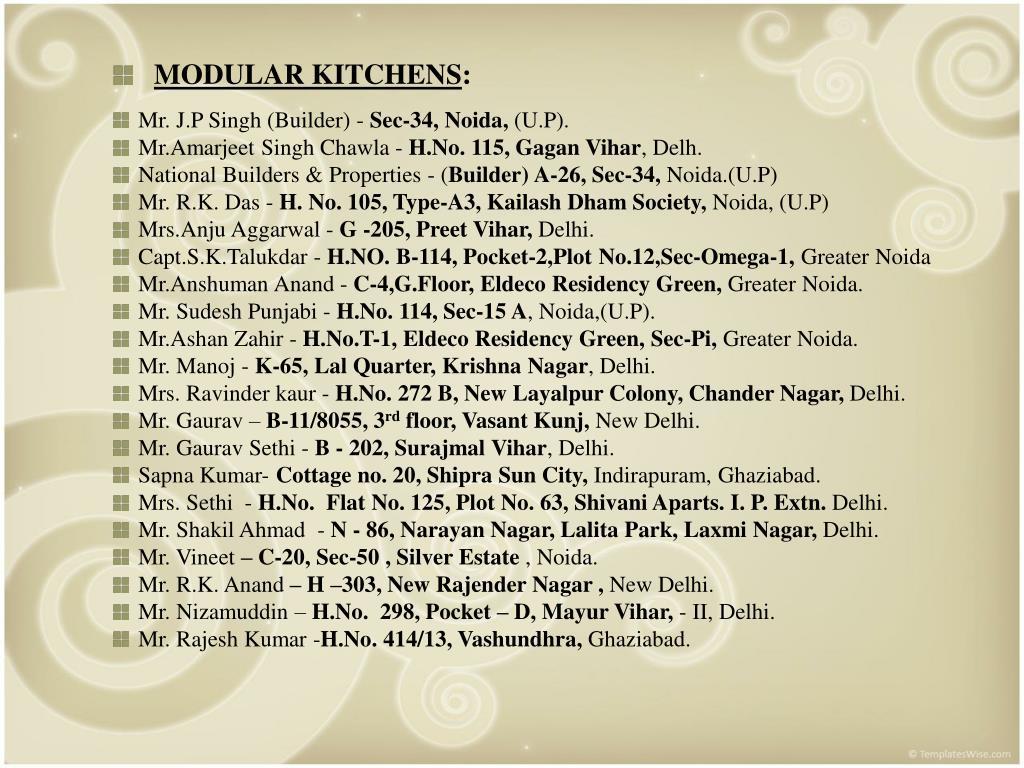 Mr. J.P Singh (Builder) -