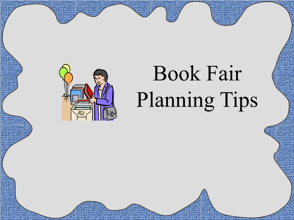 Book Fair Planning Tips